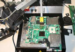 Ремонт ноутбуков на собственном высококачественном оборудовании (паяльная станция)