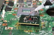 Ремонт ноутбуков на собственном высококачественном оборудовании (пропайка ребойлинг чипсета)